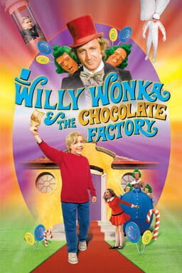Willy Wonka & the Chocolate Factory keyart