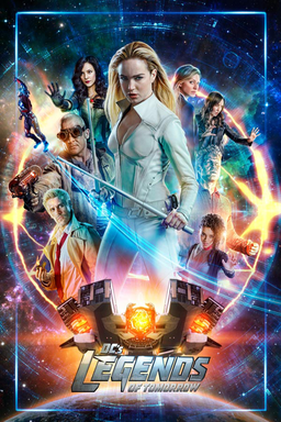 DC's Legends of Tomorrow: Season 4 - Key Art